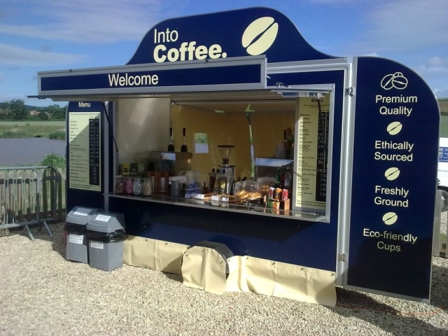 Frontage of our Artisan Coffee Cart